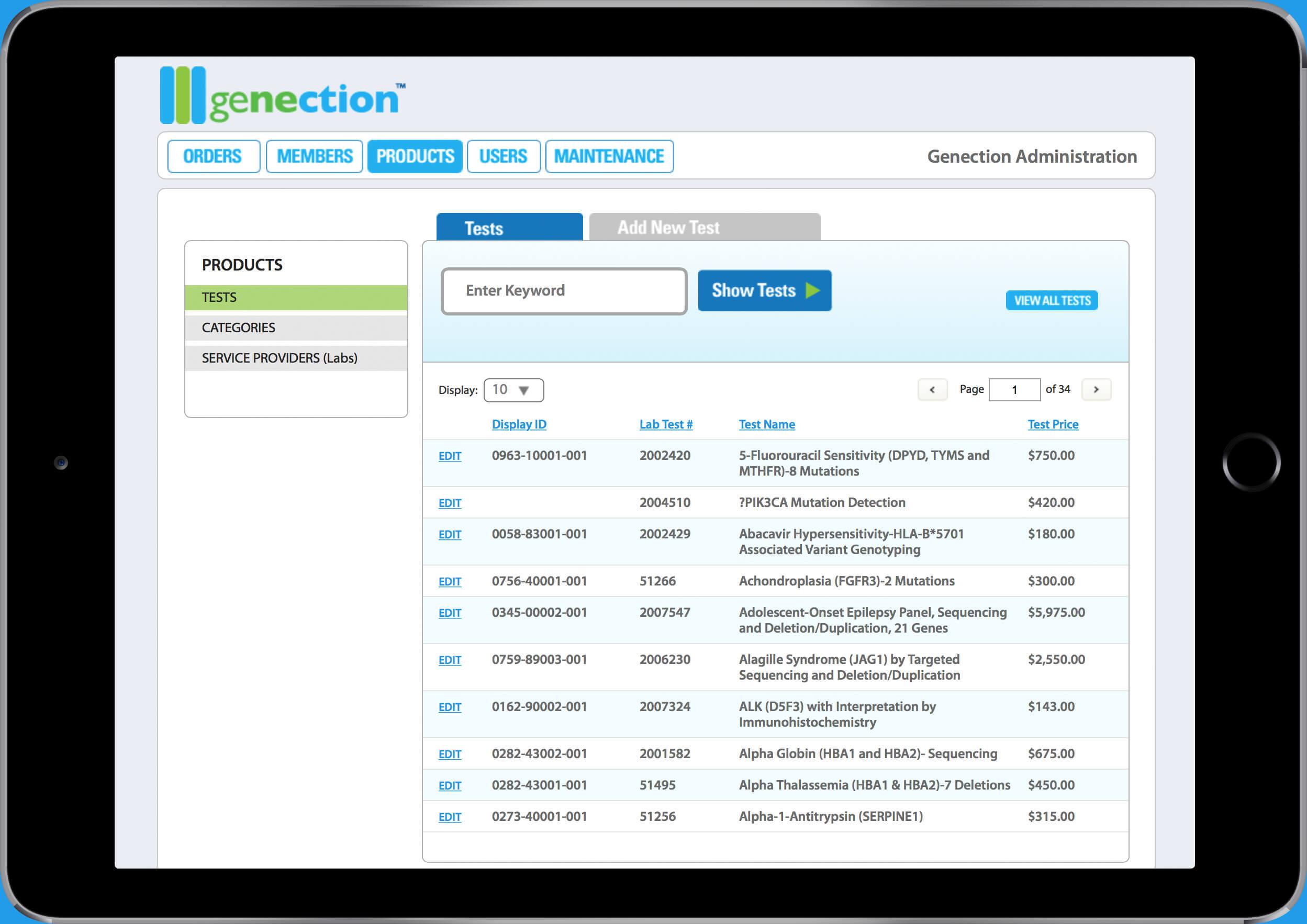 web application development genection