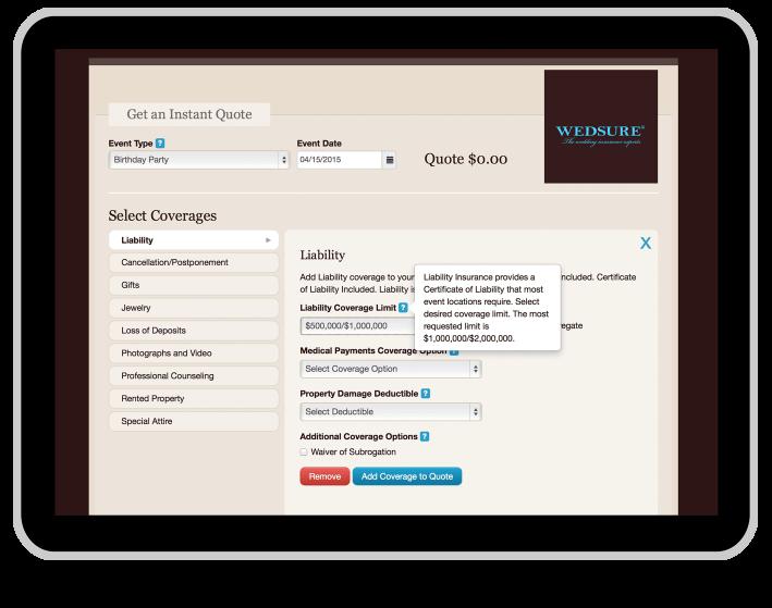 wedsure web application